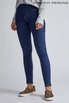 Dorothy Perkins Blue Organic Short Authentic Eden Jeans
