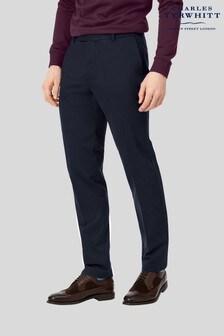Charles Tyrwhitt Navy Slim Fit Non Iron Chino
