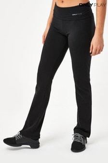 Only Black Flared Leg Yoga Pants