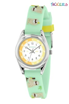 Tikkers Time Teacher Kids Watch With Metal Casing
