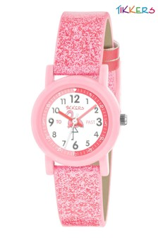 Tikkers Time Teacher Kids Watch With 26mm Plastic Casing