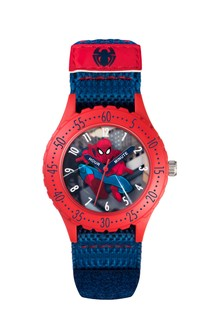 Marvel Blue Spiderman Kids Watch