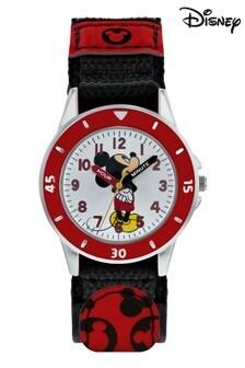 Disney Black Mickey Mouse Kids Watch