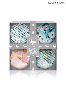 Baylis & Harding The Fuzzy Duck Cotswold Floral 4 Bath Fizzers Set