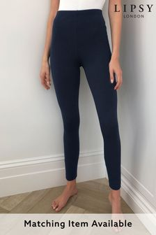 Lipsy Navy Regular High Waist Legging