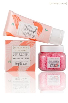 Sunday Rain Watermelon & Mint Relax & Unwind Set