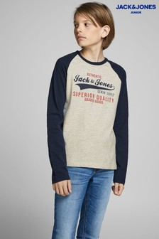 Jack & Jones Junior Raglan Long Sleeve Tee