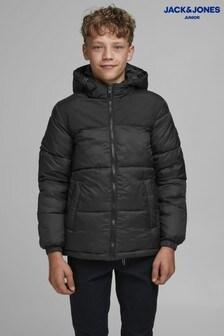 Jack & Jones Junior Black Padded Jacket