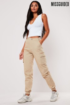 Missguided Plain Cargo Trouser