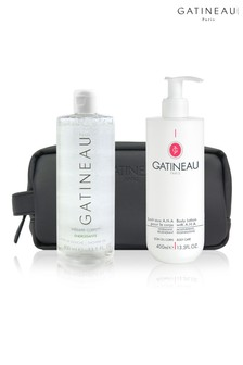 Gatineau AHA Body Lotion & Shower Gelée Duo
