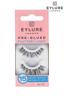 Eylure Pre-glued Fluttery Light No.117 False Lashes