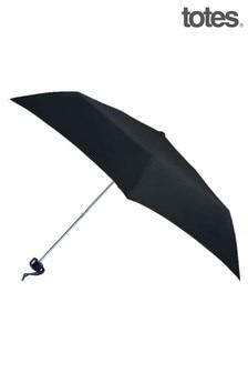 Totes Black Mini Umbrella