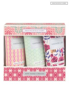 Vintage & Co FABRIC & FLOWERS Mini Hand Creams