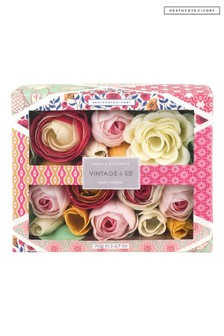 Vintage & Co FABRIC & FLOWERS Soap Flowers