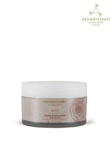 Aromatherapy Associates Rose Triple Exfoliator 200ml