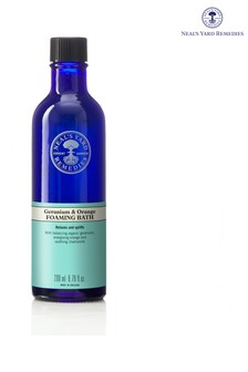Neals Yard Remedies Geranium & Orange Foaming Bath 200ml