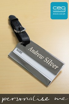 Personalised Luxury Luggage Tag by CEG Collection