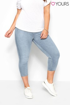 Yours Curve Cropped Jenny Jeggings