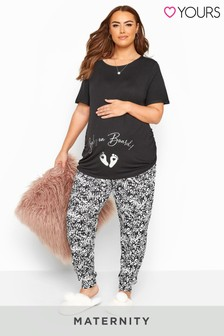 Yours Bump It Up Maternity 'Baby On Board' Lounge Set