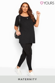 Yours Bump It Up Maternity Jersey Leggings