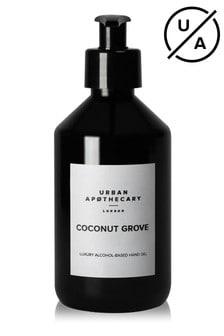 Urban Apothecary Coconut Grove Luxury Hand Sanitiser Gel (70% Alcohol) 300ml