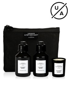 Urban Apothecary 3pcs Coconut Grove Luxury Mini Bath & Body Gift Set