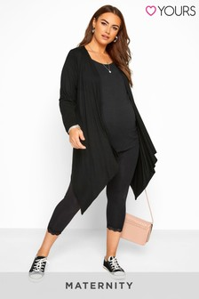 Yours Bump It Up Maternity Waterfall Cardigan