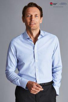 Charles Tyrwhitt Blue Stripe Slim Fit Shirt