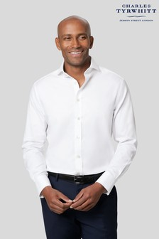 Charles Tyrwhitt Twill Cutaway Extra Slim Fit Single Cuff Shirt