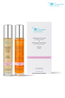 The Organic Pharmacy Antioxidant Face Serum & Antioxidant Face Gel