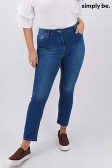 Simply Be Lexi High Waist Super Soft Slim Leg Jeans