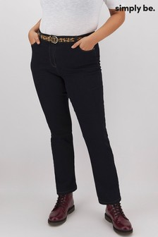 Simply Be 24/7 Straight Leg Jeans