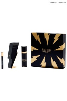 Carolina Herrera Bad Boy 100ml + Bad Boy Deodorant Spray 100ml + Mega Spritzer 10ml