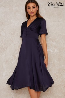 Chi Chi Fit and Flare Dress