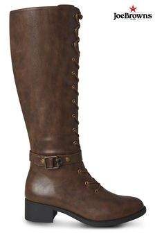 Joe Browns Brown Twice As Nice Lace Up Boots