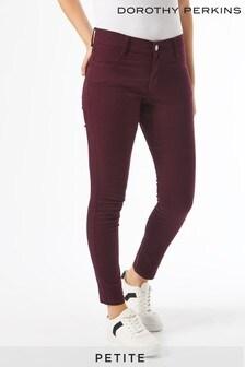 Dorothy Perkins Purple Petites Organic Frankie Jeans