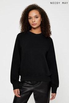 Noisy May Black Sweatshirt