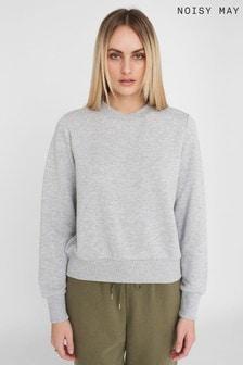 Noisy May Grey Sweatshirt