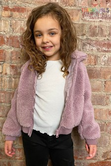 Threadgirls Lilac Borg Jacket