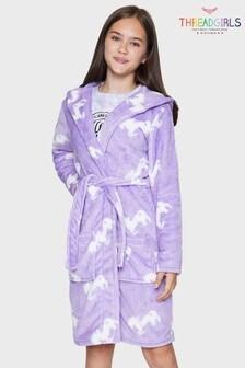 Threadgirls Lilac Dressing Gown