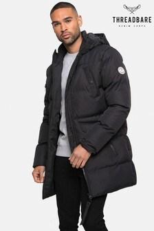 Threadbare Black Padded Jacket