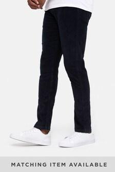 Threadbare Navy Cord Trousers
