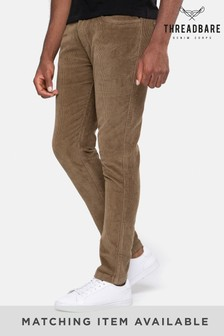 Threadbare Brown Cord Trousers
