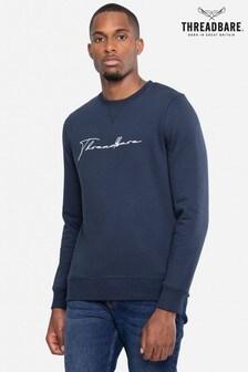 Threadbare Navy Sweatshirt
