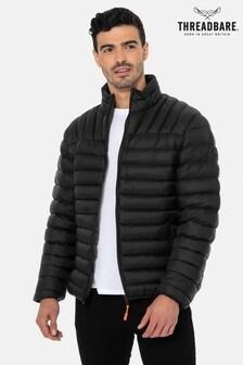 Threadbare Black Threadbare Garnock Padded Jacket