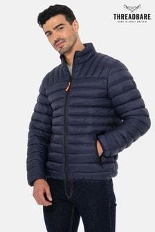 Threadbare Navy Threadbare Garnock Padded Jacket