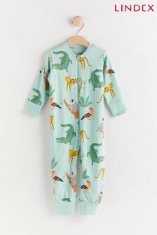 Lindex Blue Zip Sleepsuit (Baby)