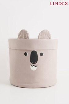 Lindex Grey Baby Home Koala Character Basket