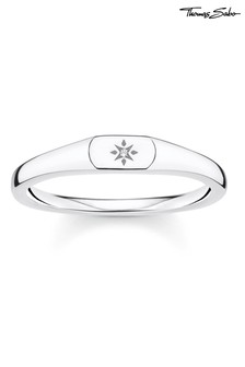 Thomas Sabo Silver Mini Star Signet Ring