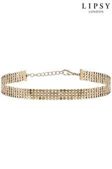 Lipsy Jewellery Gold Plated Choker Necklace
